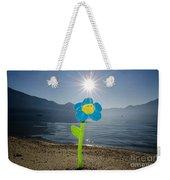 Smile Flower On The Beach Weekender Tote Bag