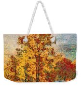 Smoke Tree In The Karst Weekender Tote Bag
