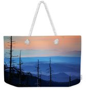 Smokey Mountain Sunset As Seen From Clingman's Dome Weekender Tote Bag