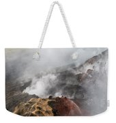 Smoking Fields Weekender Tote Bag