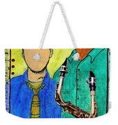 Smooth Jazz Weekender Tote Bag