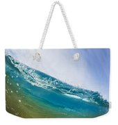 Smooth Wave Weekender Tote Bag