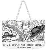 Snails Weekender Tote Bag