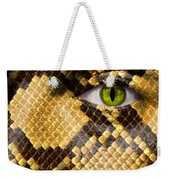 Snake Eye Weekender Tote Bag by Semmick Photo