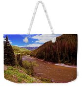Snake River And Rafters Weekender Tote Bag