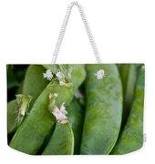 Snap Peas Please Weekender Tote Bag by Susan Herber