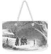 Snaring Rabbits, 1867 Weekender Tote Bag