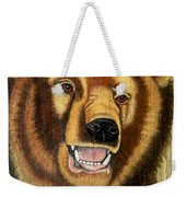 Snarling Grizzly Weekender Tote Bag