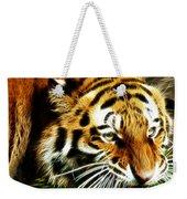 Snarling Tiger Weekender Tote Bag