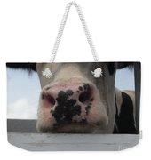 Sniffing Cow Weekender Tote Bag