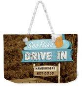Sno-flake Drive In Lake Tahoe Weekender Tote Bag