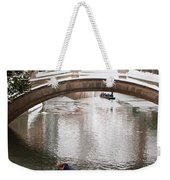 Snow Ball Fight Weekender Tote Bag