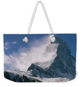 Snow Blows Off Of The Matterhorn Weekender Tote Bag