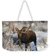 Snow Bull Weekender Tote Bag