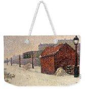 Snow Butte Montmartre Weekender Tote Bag by Paul Signac