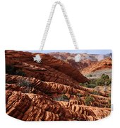 Snow Canyon 2 Weekender Tote Bag