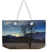 Snow-capped Monte Rosa Weekender Tote Bag