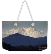 Snow-capped Mountain Monte Rosa Weekender Tote Bag