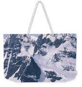 Snow-covered Mountains On Wienke Weekender Tote Bag