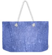 Snow Falling In The Forest Weekender Tote Bag