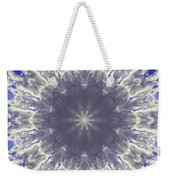 Snow Flake Crystal Weekender Tote Bag