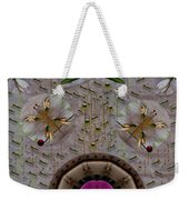 Snow Flowers And Orchids In Heavenly Wisdom Weekender Tote Bag