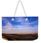Snow Geese At Rest Weekender Tote Bag