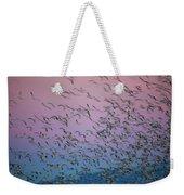 Snow Geese Painting Weekender Tote Bag