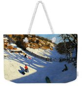 Snow In The Valley Weekender Tote Bag