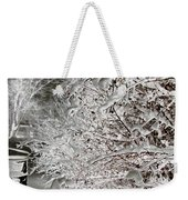 Snow Laden Branches II Weekender Tote Bag