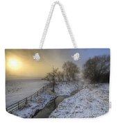 Snow Landscape Sunrise 2.0 Weekender Tote Bag