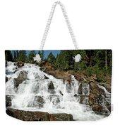 Snow Melt Glen Alpine Falls Weekender Tote Bag