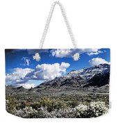 Snow On The Superstitions  Weekender Tote Bag