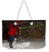 Snow Researcher Weekender Tote Bag
