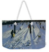 Snow Rykneld Park Derby Weekender Tote Bag