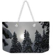 Snow Sun Weekender Tote Bag