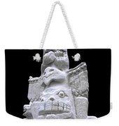 Snow Totem Pole Weekender Tote Bag