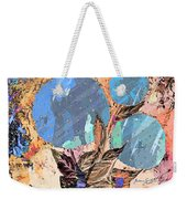 Snowball Plant Abstract 3 Weekender Tote Bag