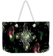 Snowflake Bubble Glass Weekender Tote Bag