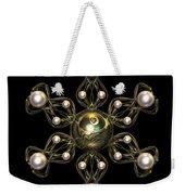 Snowflake Jewel Weekender Tote Bag