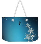 Snowflakes On My Window Weekender Tote Bag