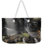 Snowmelt Waterfalls In Tuckermans Ravine Weekender Tote Bag
