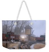 Snows A Coming Weekender Tote Bag