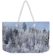 Snows Hit Again In Early Spring Weekender Tote Bag
