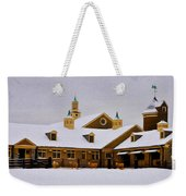 Snowy Day At Erdenheim Farm Weekender Tote Bag by Bill Cannon