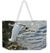 Snowy Egret 2 Weekender Tote Bag