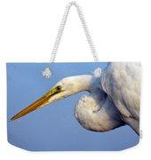 Snowy Egret Ready Weekender Tote Bag
