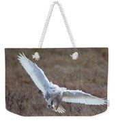 Snowy Flight Weekender Tote Bag