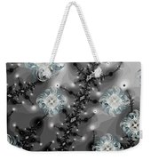 Snowy Night II Fractal Weekender Tote Bag