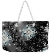 Snowy Night IIi Fractal Weekender Tote Bag